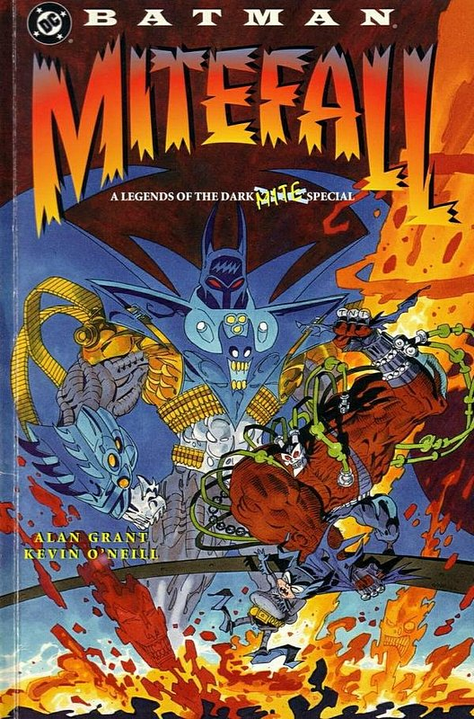 Cover of Batman: Mitefall (1995 One Shot) #1. One of 250,000 Vintage American Comics on sale from Krypton!