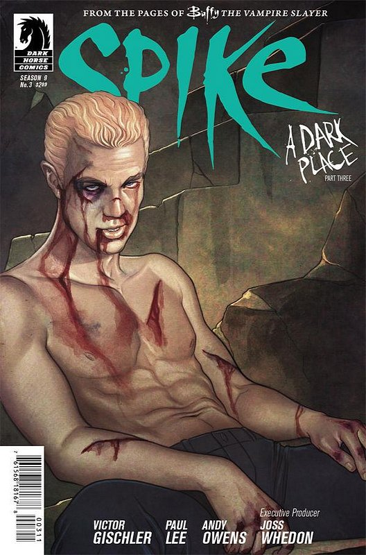 Cover of Buffy the Vampire Slayer: Spike (2012 Ltd) #3. One of 250,000 Vintage American Comics on sale from Krypton!
