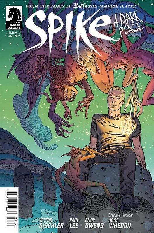 Cover of Buffy the Vampire Slayer: Spike (2012 Ltd) #4. One of 250,000 Vintage American Comics on sale from Krypton!