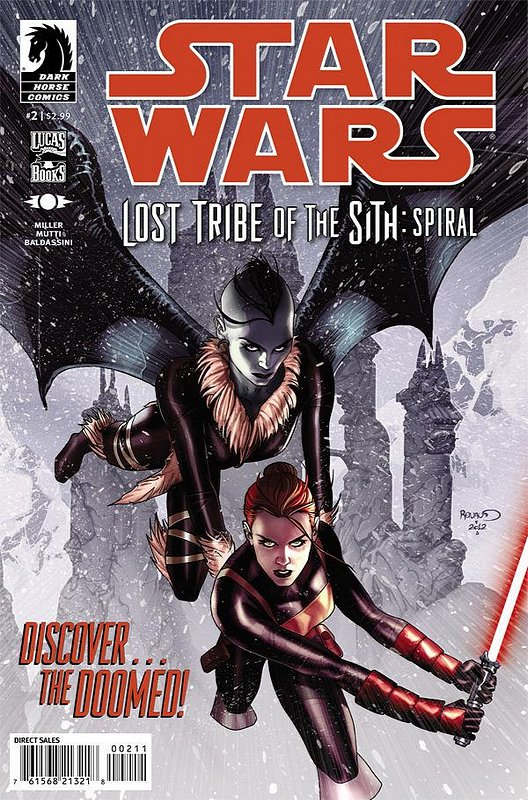 Cover of Star Wars: Lost Tribe of the Sith: Spiral (Ltd) #2. One of 250,000 Vintage American Comics on sale from Krypton!