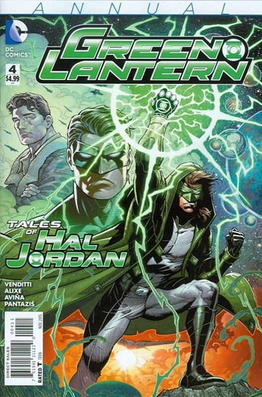 Cover of Green Lantern Annual (2012) #4. One of 250,000 Vintage American Comics on sale from Krypton!