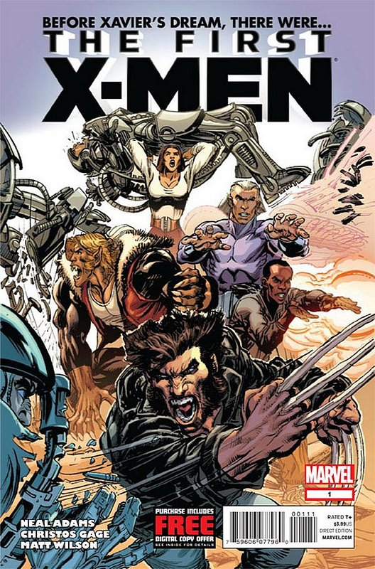 Cover of First X-Men (Vol 1) #1. One of 250,000 Vintage American Comics on sale from Krypton!
