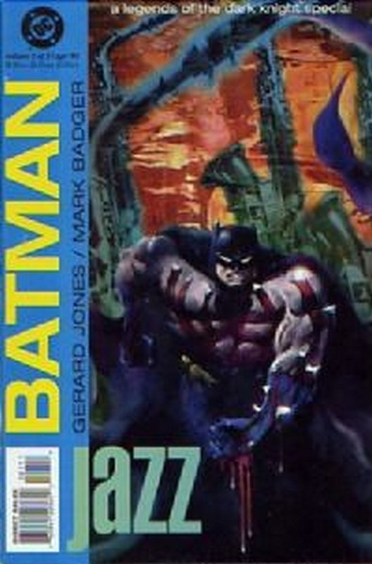 Cover of Batman: Jazz (1995 Ltd) #1. One of 250,000 Vintage American Comics on sale from Krypton!