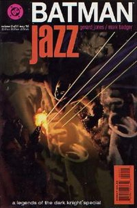 Cover of Batman: Jazz (1995 Ltd) #2. One of 250,000 Vintage American Comics on sale from Krypton!