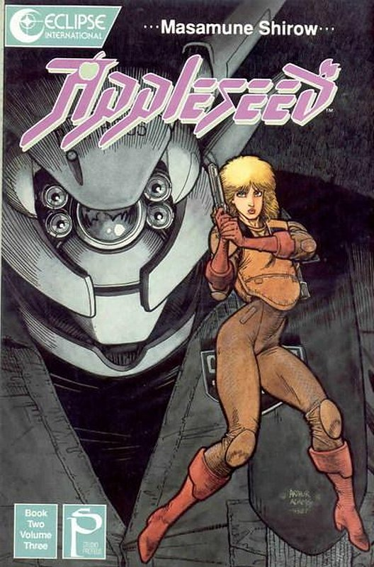 Cover of Appleseed Book Two (1989 Ltd) #3. One of 250,000 Vintage American Comics on sale from Krypton!