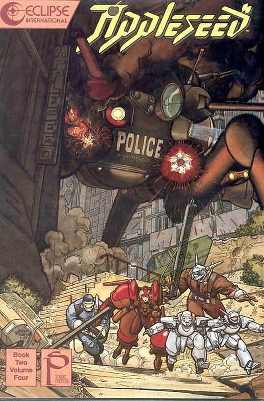 Cover of Appleseed Book Two (1989 Ltd) #4. One of 250,000 Vintage American Comics on sale from Krypton!
