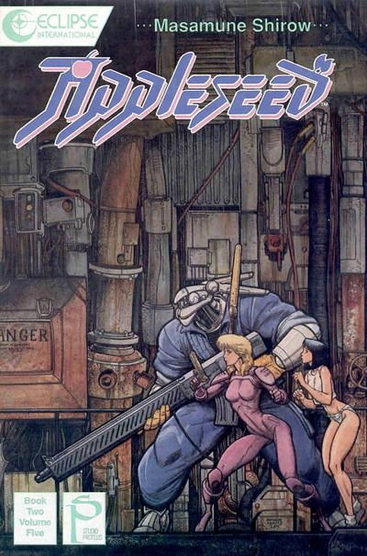 Cover of Appleseed Book Two (1989 Ltd) #5. One of 250,000 Vintage American Comics on sale from Krypton!
