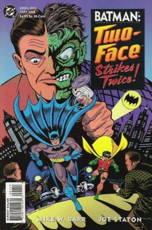 Cover of Batman: Two-Face Strikes Twice (1993 Ltd) #1. One of 250,000 Vintage American Comics on sale from Krypton!