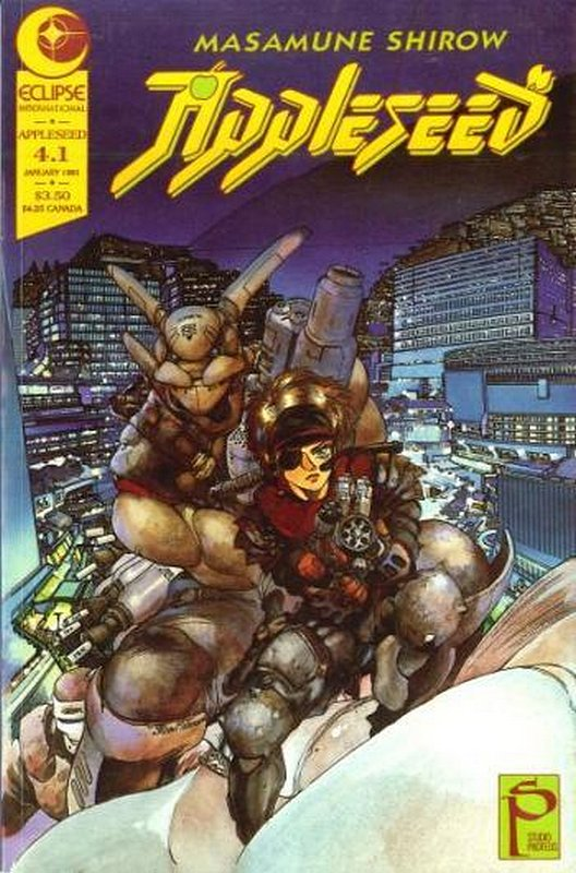 Cover of Appleseed Book Four  (1991 Ltd) #1. One of 250,000 Vintage American Comics on sale from Krypton!