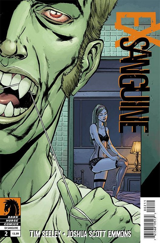 Cover of Ex Sanguine (2012 Ltd) #2. One of 250,000 Vintage American Comics on sale from Krypton!
