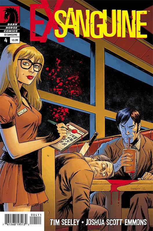 Cover of Ex Sanguine (2012 Ltd) #4. One of 250,000 Vintage American Comics on sale from Krypton!