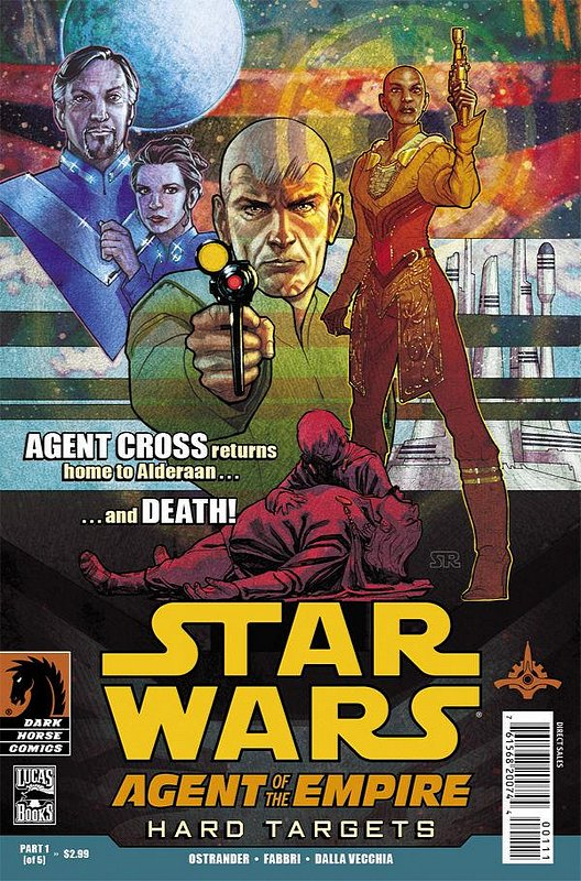 Cover of Star Wars: Agent of Empire - Hard Targets (Ltd) #1. One of 250,000 Vintage American Comics on sale from Krypton!