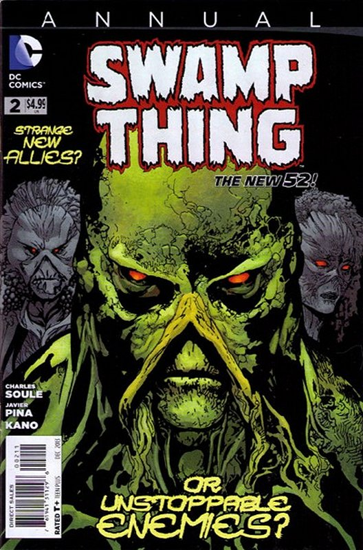Cover of Swamp Thing Annual (2012) #2. One of 250,000 Vintage American Comics on sale from Krypton!