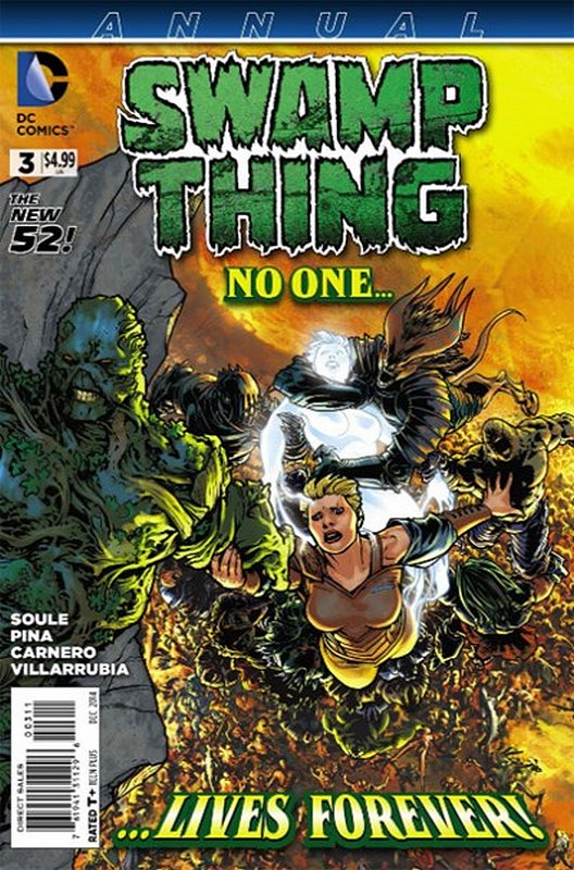 Cover of Swamp Thing Annual (2012) #3. One of 250,000 Vintage American Comics on sale from Krypton!