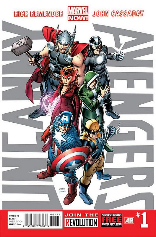 Cover of Uncanny Avengers (Vol 1) #1. One of 250,000 Vintage American Comics on sale from Krypton!