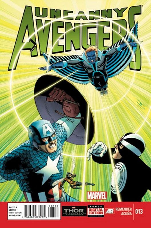 Cover of Uncanny Avengers (Vol 1) #13. One of 250,000 Vintage American Comics on sale from Krypton!