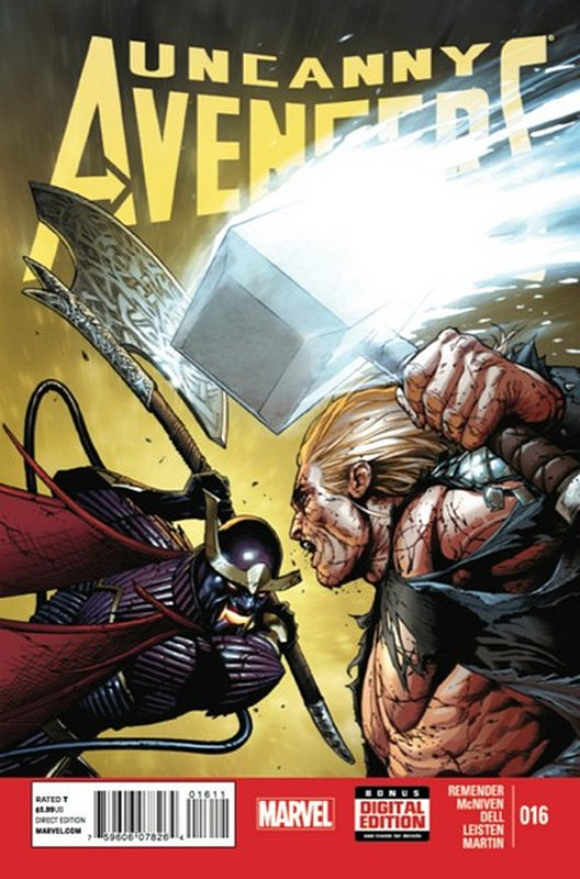 Cover of Uncanny Avengers (Vol 1) #16. One of 250,000 Vintage American Comics on sale from Krypton!