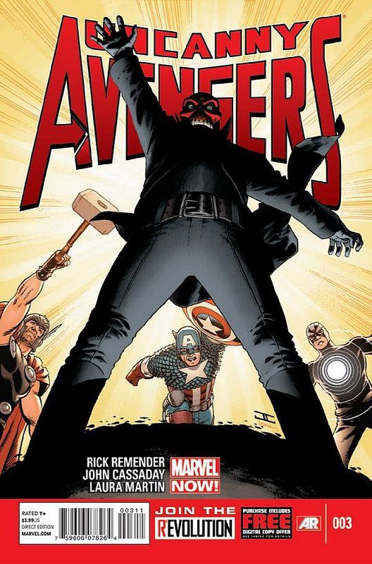 Cover of Uncanny Avengers (Vol 1) #3. One of 250,000 Vintage American Comics on sale from Krypton!