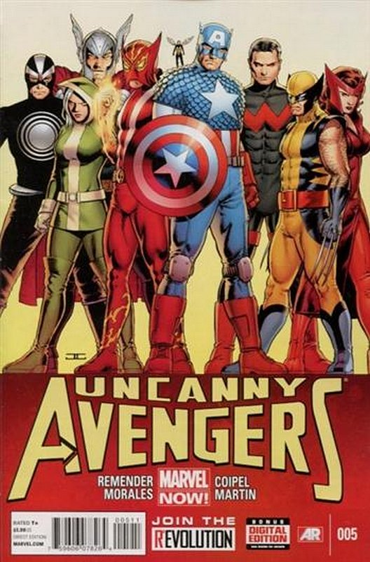 Cover of Uncanny Avengers (Vol 1) #5. One of 250,000 Vintage American Comics on sale from Krypton!