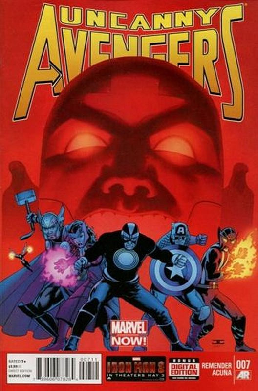 Cover of Uncanny Avengers (Vol 1) #7. One of 250,000 Vintage American Comics on sale from Krypton!
