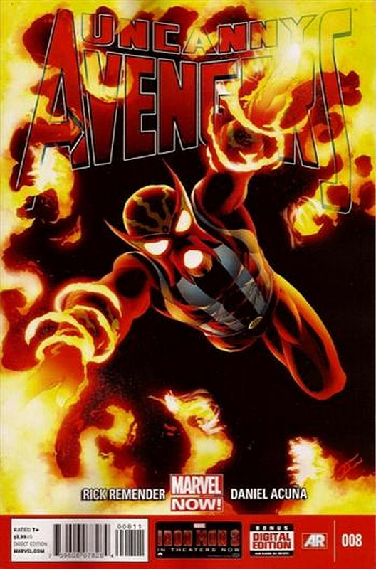 Cover of Uncanny Avengers (Vol 1) #8. One of 250,000 Vintage American Comics on sale from Krypton!