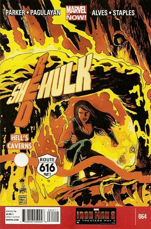 Cover of Red She-Hulk (Vol 1) #64. One of 250,000 Vintage American Comics on sale from Krypton!