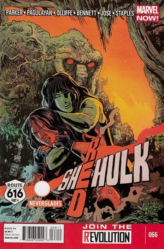 Cover of Red She-Hulk (Vol 1) #66. One of 250,000 Vintage American Comics on sale from Krypton!
