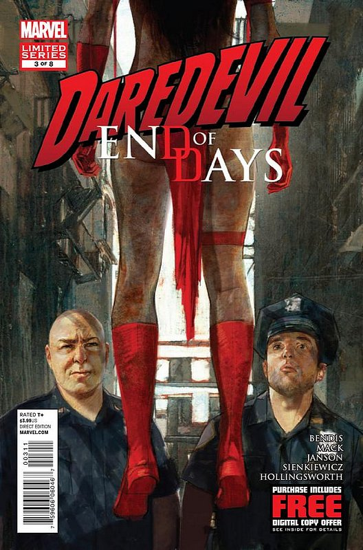 Cover of Daredevil: End of Days (2012 Ltd) #3. One of 250,000 Vintage American Comics on sale from Krypton!