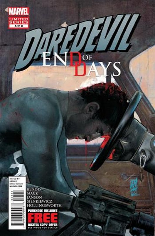 Cover of Daredevil: End of Days (2012 Ltd) #5. One of 250,000 Vintage American Comics on sale from Krypton!