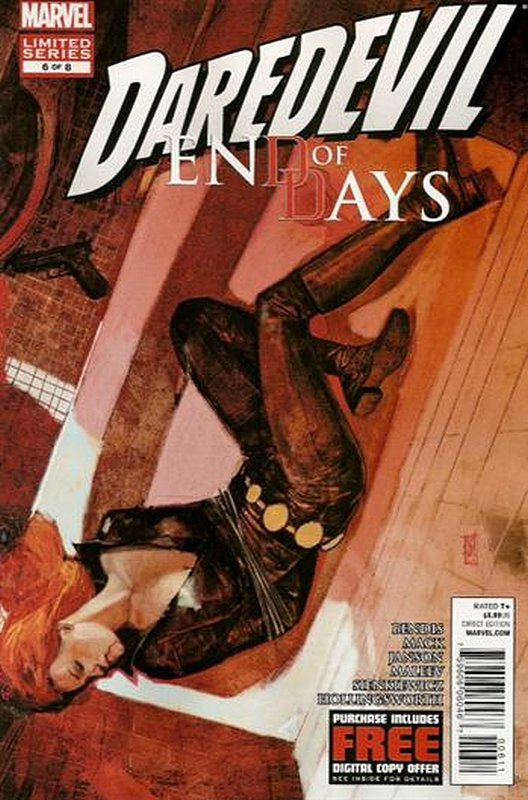 Cover of Daredevil: End of Days (2012 Ltd) #6. One of 250,000 Vintage American Comics on sale from Krypton!
