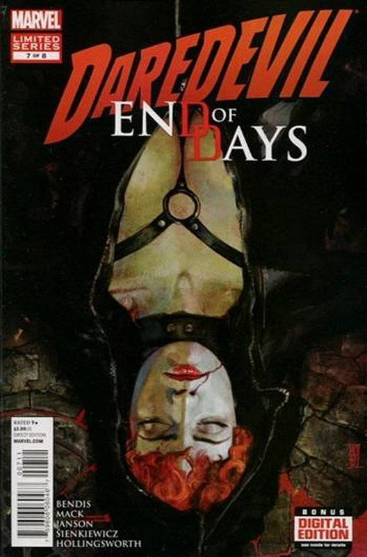Cover of Daredevil: End of Days (2012 Ltd) #7. One of 250,000 Vintage American Comics on sale from Krypton!