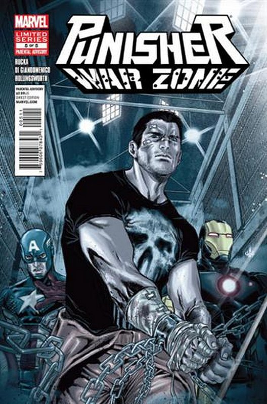 Cover of Punisher War Zone (2012 Ltd) #5. One of 250,000 Vintage American Comics on sale from Krypton!