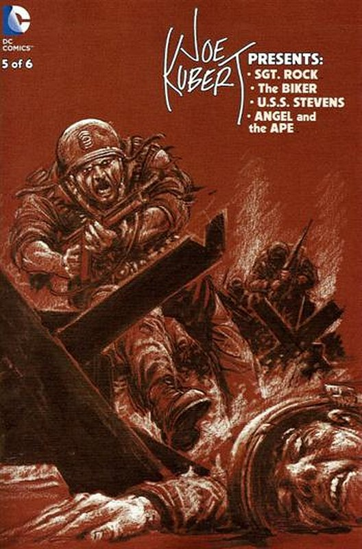 Cover of Joe Kubert Presents (2012 Ltd) #5. One of 250,000 Vintage American Comics on sale from Krypton!