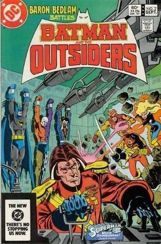 Cover of Batman & The Outsiders (Vol 1) #2. One of 250,000 Vintage American Comics on sale from Krypton!