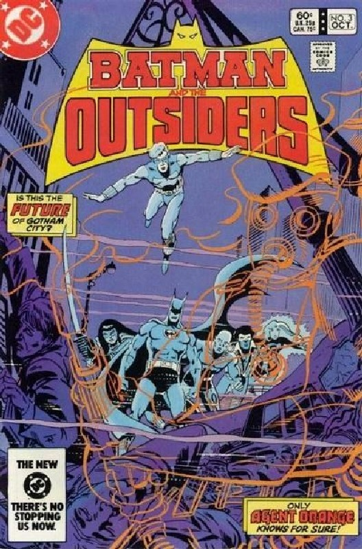Cover of Batman & The Outsiders (Vol 1) #3. One of 250,000 Vintage American Comics on sale from Krypton!