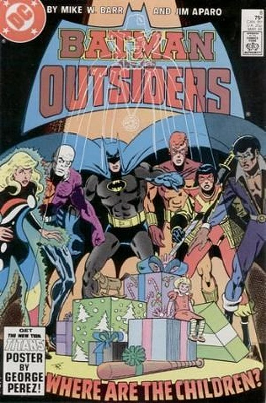 Cover of Batman & The Outsiders (Vol 1) #8. One of 250,000 Vintage American Comics on sale from Krypton!