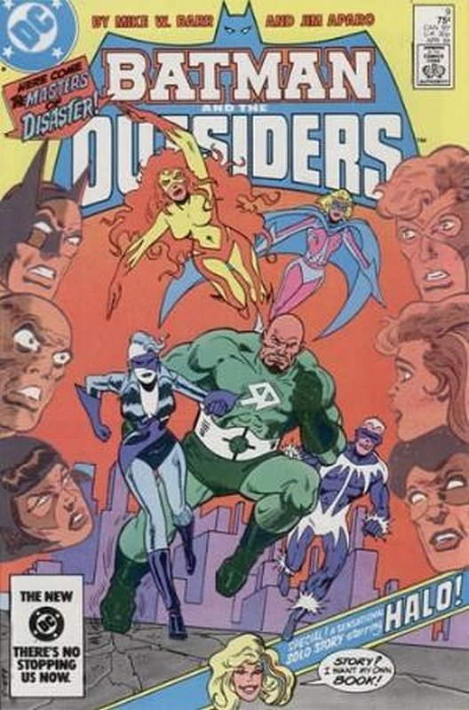 Cover of Batman & The Outsiders (Vol 1) #9. One of 250,000 Vintage American Comics on sale from Krypton!