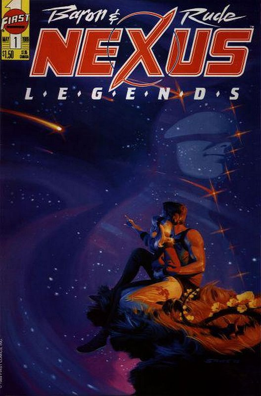 Cover of Nexus: Legends (Vol 1) #1. One of 250,000 Vintage American Comics on sale from Krypton!