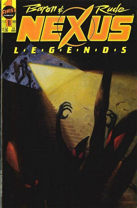 Cover of Nexus: Legends (Vol 1) #10. One of 250,000 Vintage American Comics on sale from Krypton!