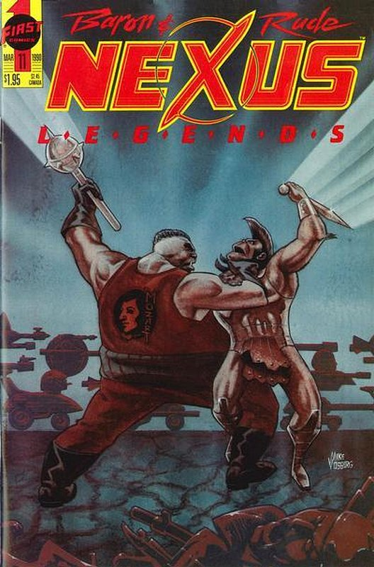Cover of Nexus: Legends (Vol 1) #11. One of 250,000 Vintage American Comics on sale from Krypton!