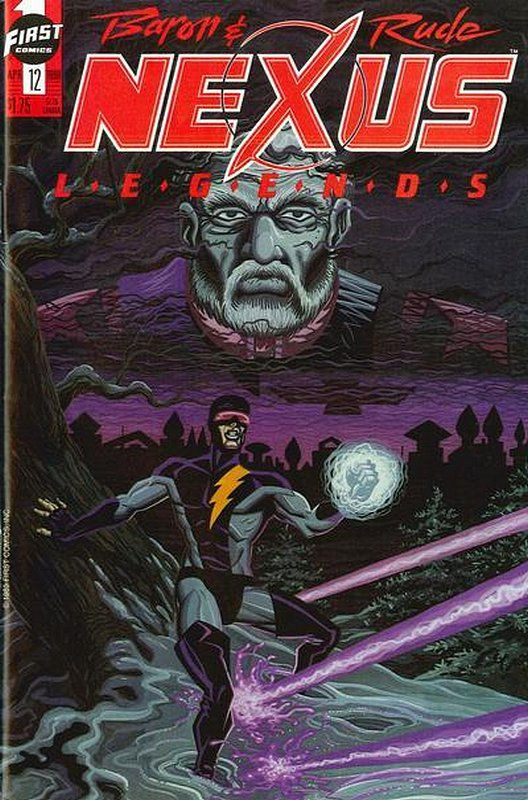 Cover of Nexus: Legends (Vol 1) #12. One of 250,000 Vintage American Comics on sale from Krypton!