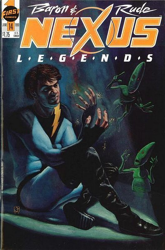 Cover of Nexus: Legends (Vol 1) #14. One of 250,000 Vintage American Comics on sale from Krypton!