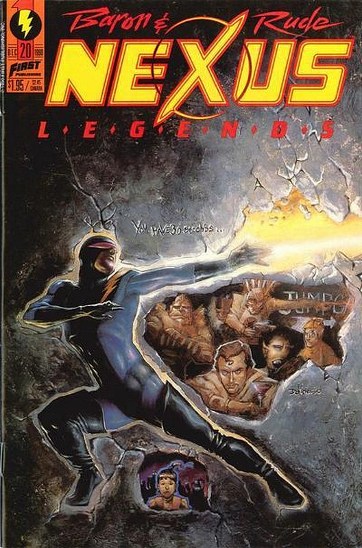 Cover of Nexus: Legends (Vol 1) #20. One of 250,000 Vintage American Comics on sale from Krypton!