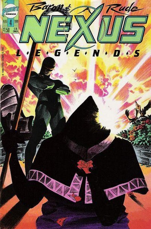 Cover of Nexus: Legends (Vol 1) #4. One of 250,000 Vintage American Comics on sale from Krypton!
