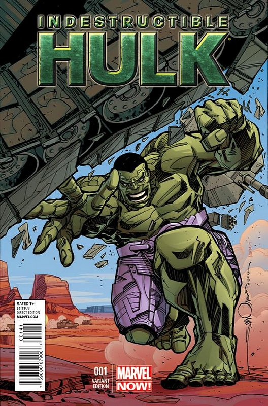 Cover of Indestructible Hulk (Vol 1) #1. One of 250,000 Vintage American Comics on sale from Krypton!