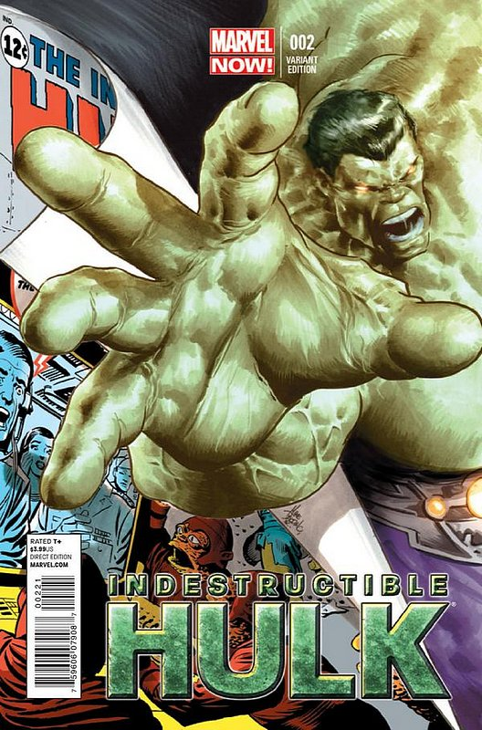 Cover of Indestructible Hulk (Vol 1) #2. One of 250,000 Vintage American Comics on sale from Krypton!