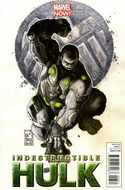 Cover of Indestructible Hulk (Vol 1) #3. One of 250,000 Vintage American Comics on sale from Krypton!