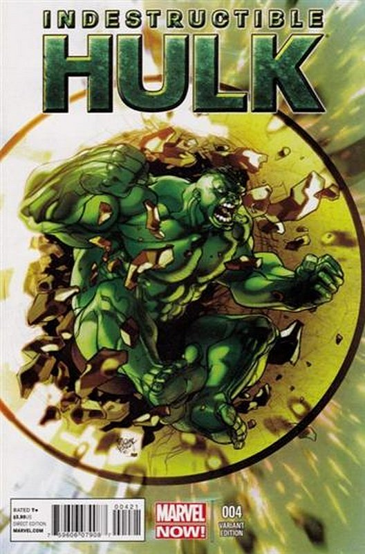 Cover of Indestructible Hulk (Vol 1) #4. One of 250,000 Vintage American Comics on sale from Krypton!
