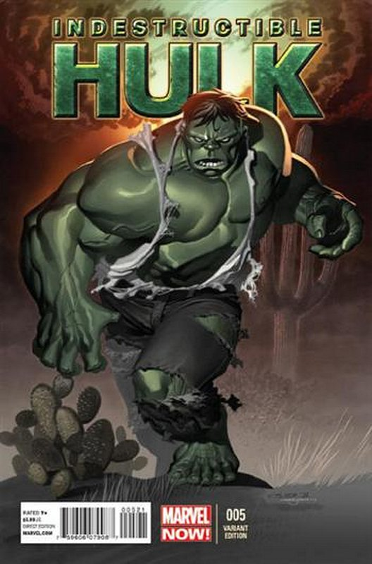 Cover of Indestructible Hulk (Vol 1) #5. One of 250,000 Vintage American Comics on sale from Krypton!