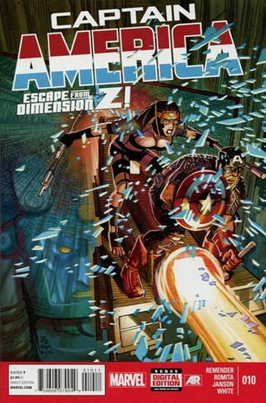 Cover of Captain America (Vol 7) #10. One of 250,000 Vintage American Comics on sale from Krypton!